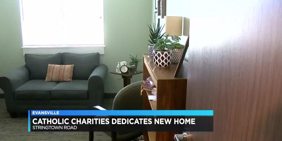 Catholic Charities of Evansville dedicates new home