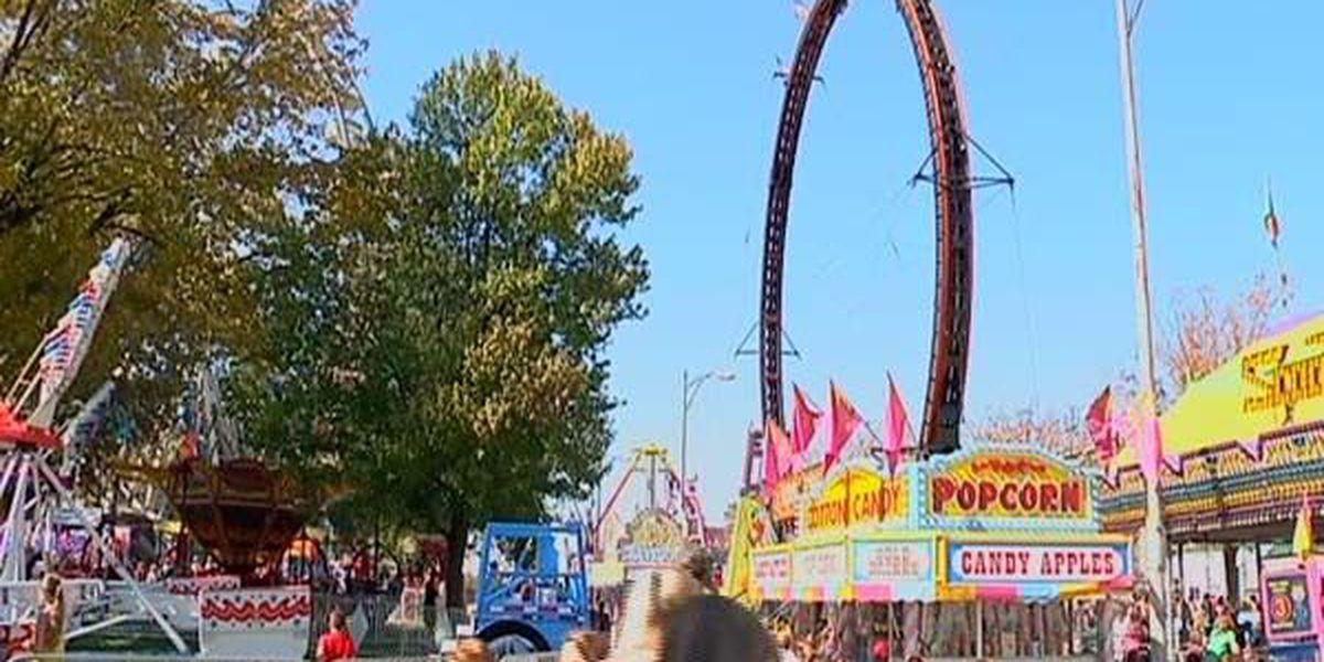 Fall Festival rides announced