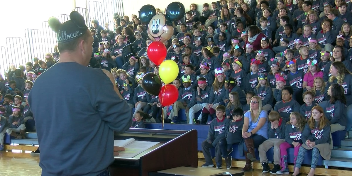 More than 60 students announced for Disney World trip