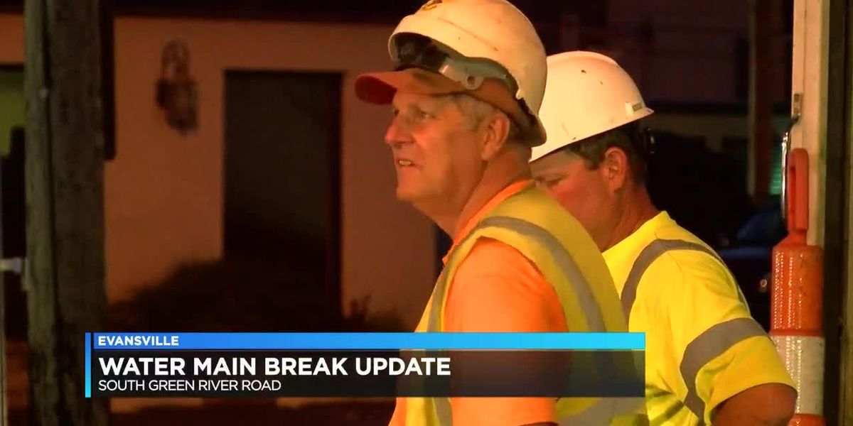 Water main break closes section of Green River Rd.