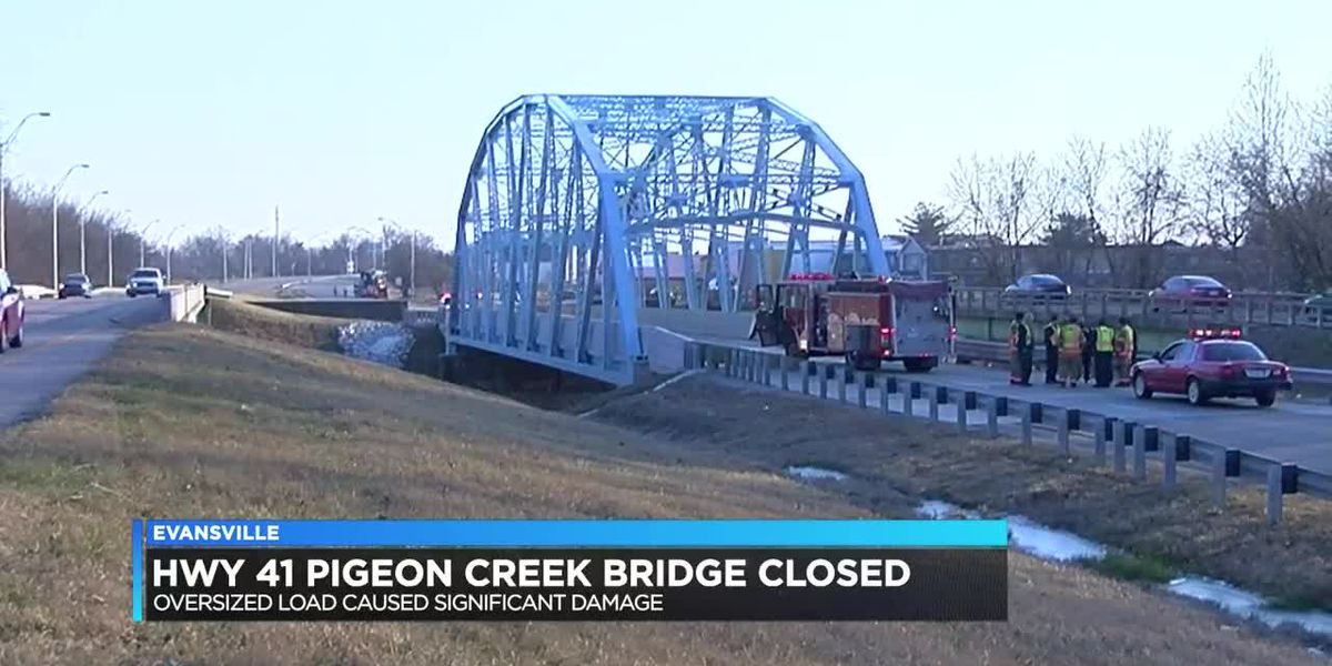 Traffic Alert: Hwy 41 southbound Pigeon Creek Bridge closed due to vehicle accident