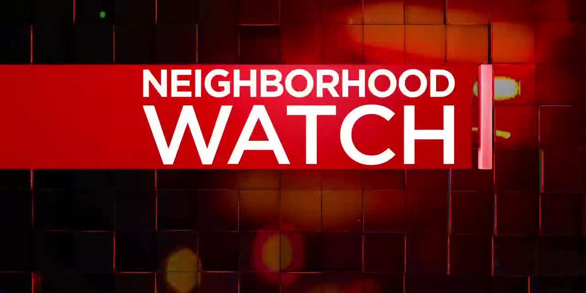 Neighborhood Watch: Man arrested after reporting break-in
