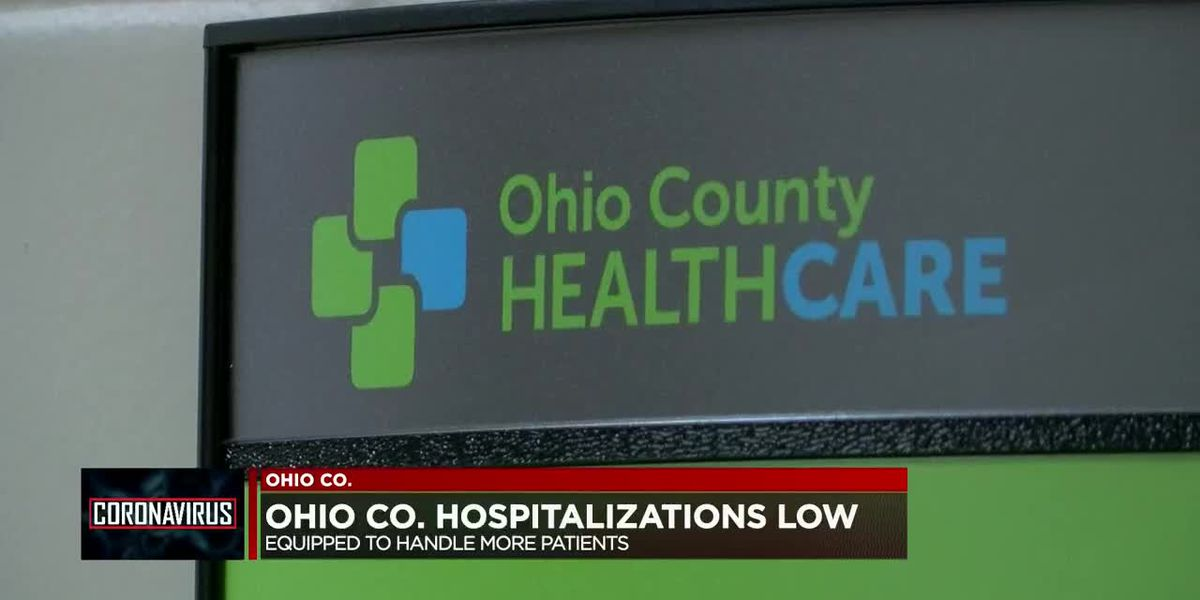 COVID-19 hospitalizations currently low in Ohio Co.