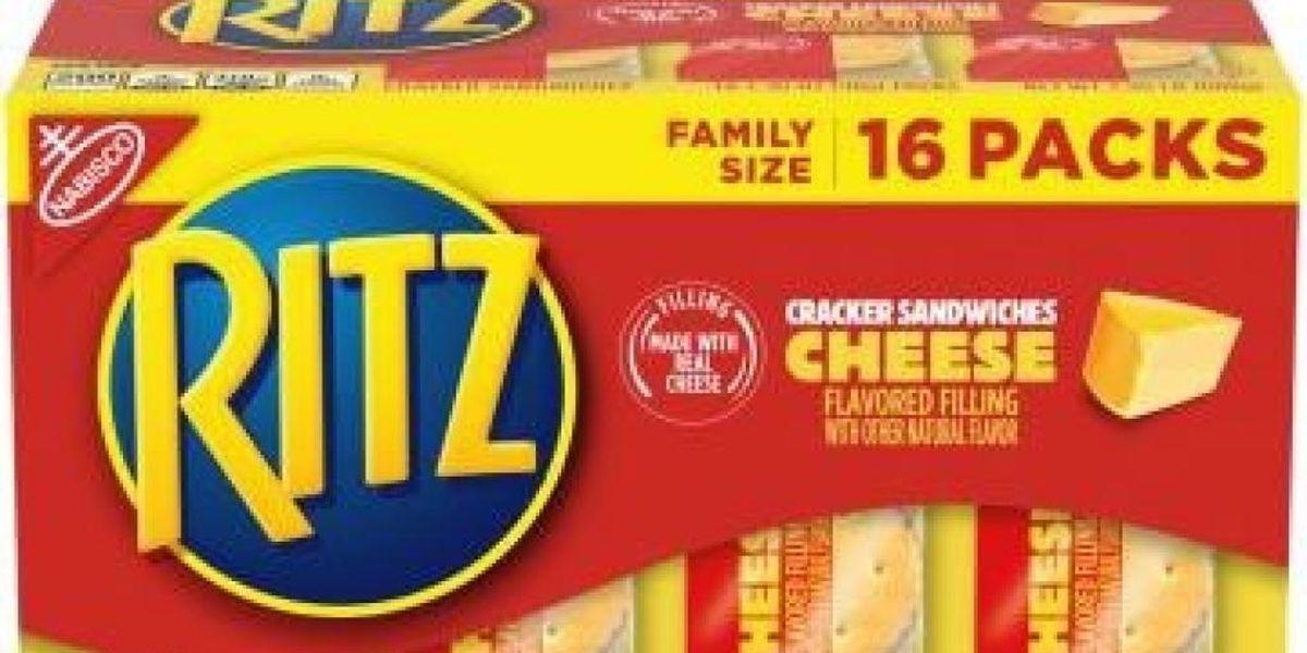 Ritz recalls mislabeled cracker sandwiches