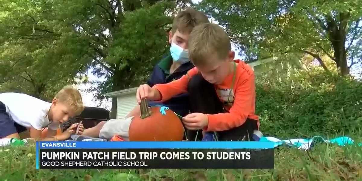 Pumpkin patch field trip comes to students
