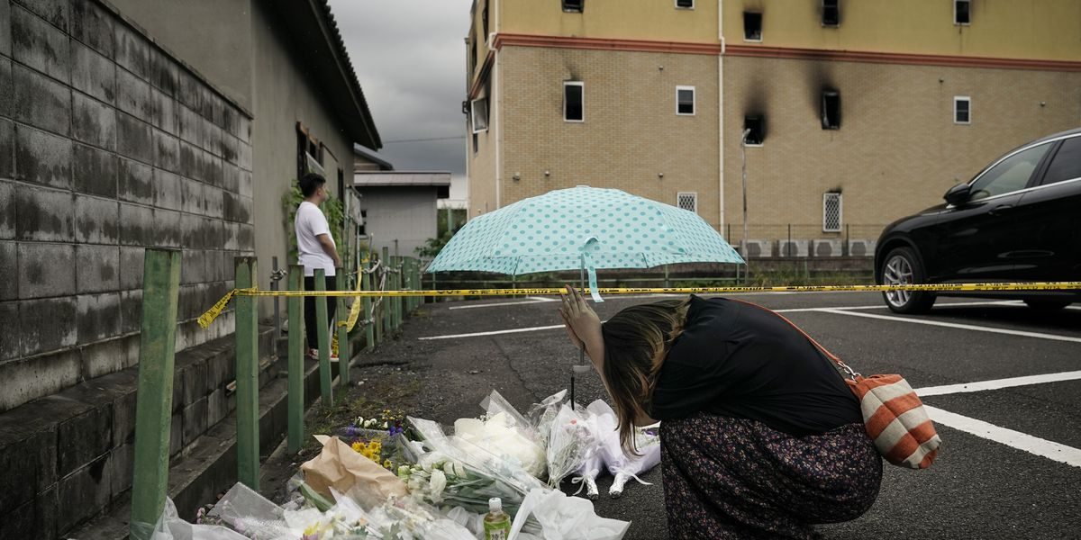 Japan police arrest man in Kyoto anime arson that killed 36