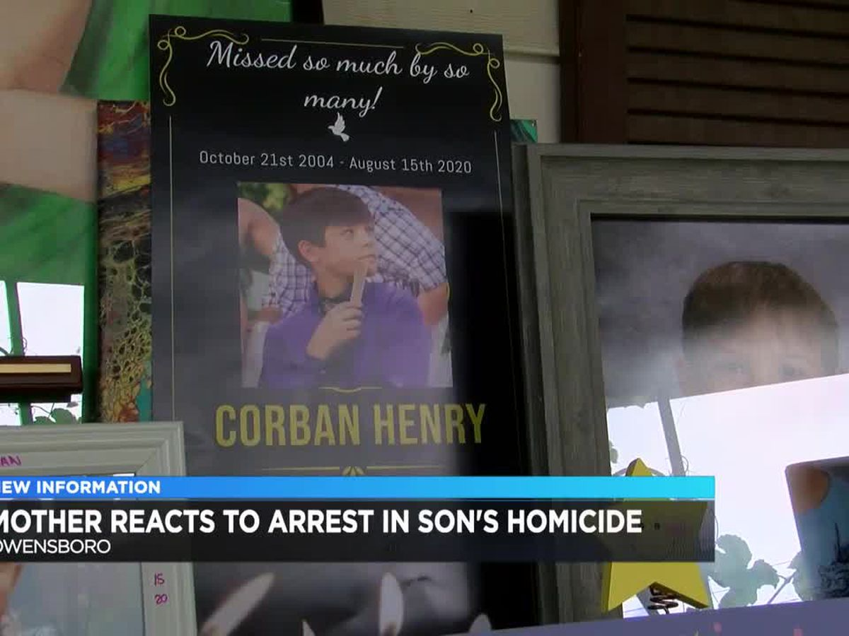 Teen charged in Corban Henry's death makes court appearance