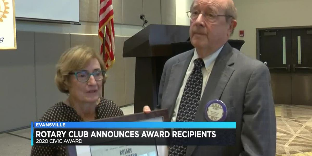 Evansville Rotary Club announces award recipients