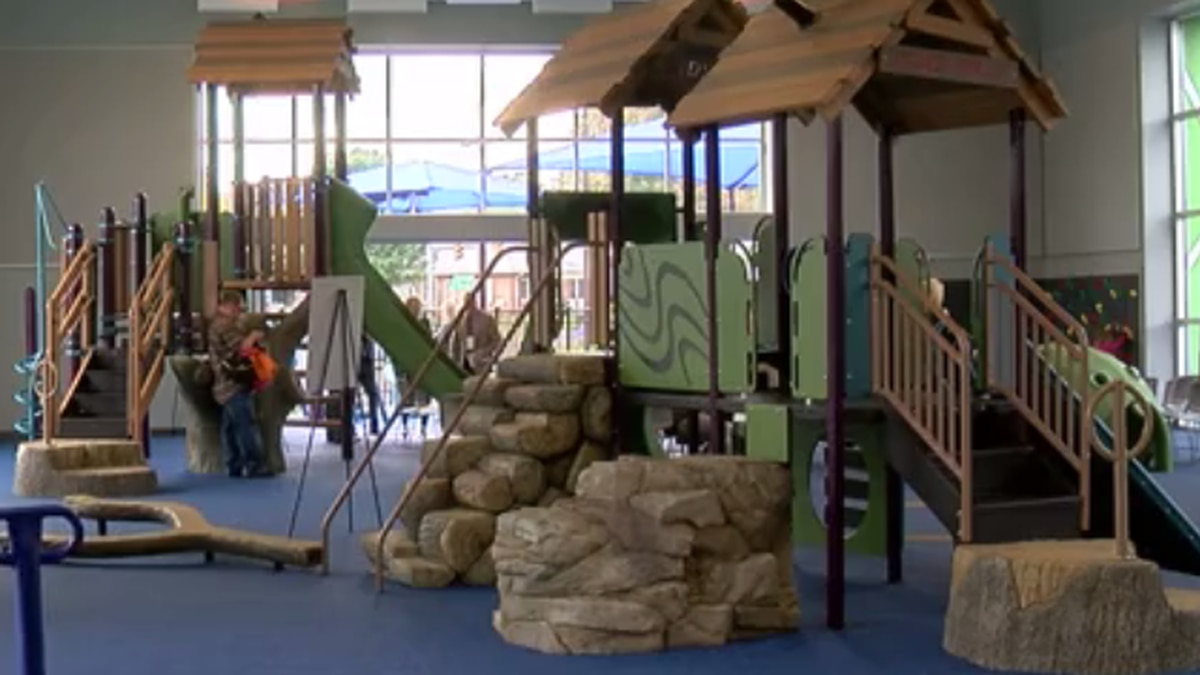 St. Vincent's New Therapeutic Sensory Playground