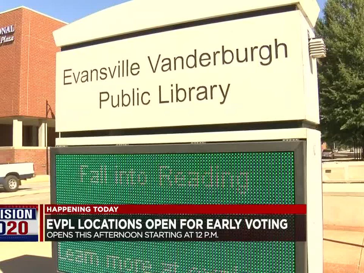 EVPL locations open for early voting