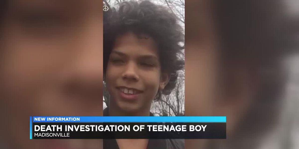 New information on death investigation of Madisonville teen