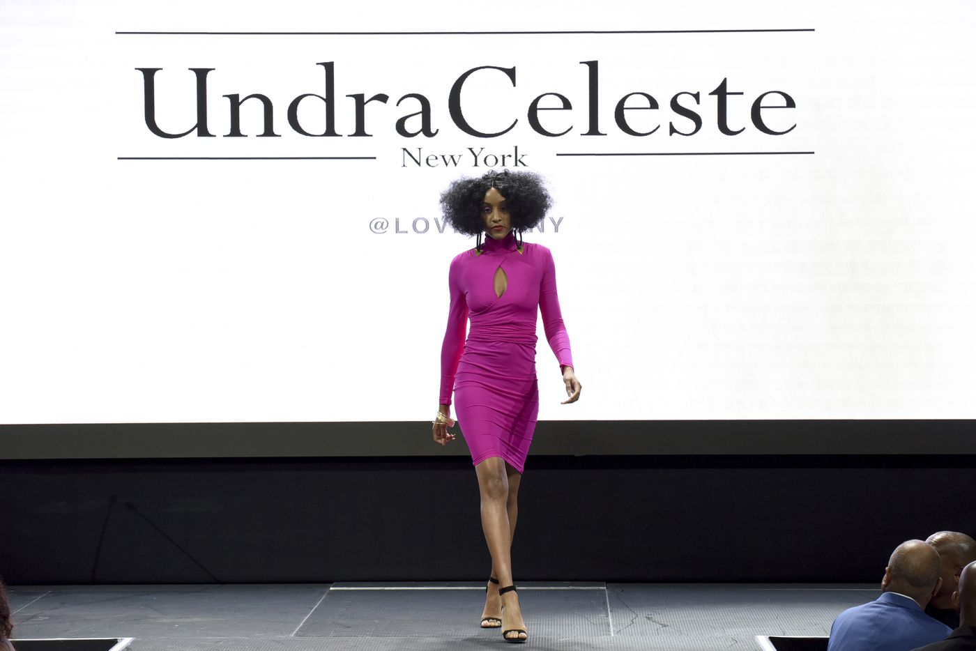 b9d47d48a75 The Undra Celeste collection is modeled at the Harlem Fashion Row show and  awards ceremony before