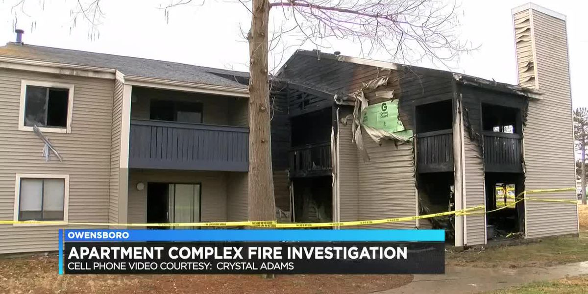 Residents recall early morning apartment fire in Owensboro