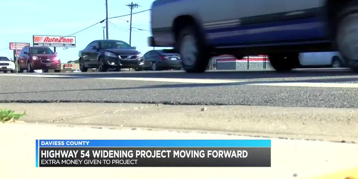 Highway 54 widening project on fast track