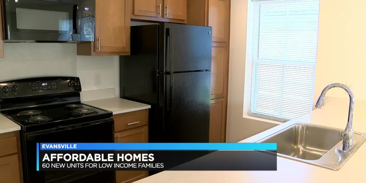 60 new affordable housing units available on Evansville's south side