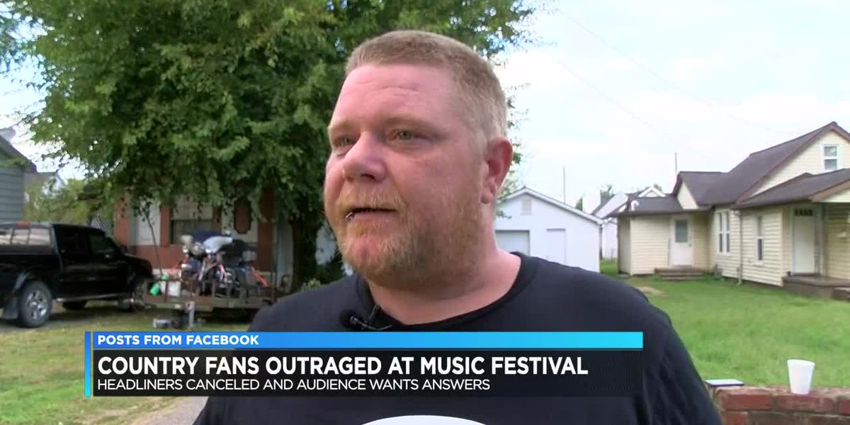 Country music fans outraged after headliners canceled at Daviess Co. concert