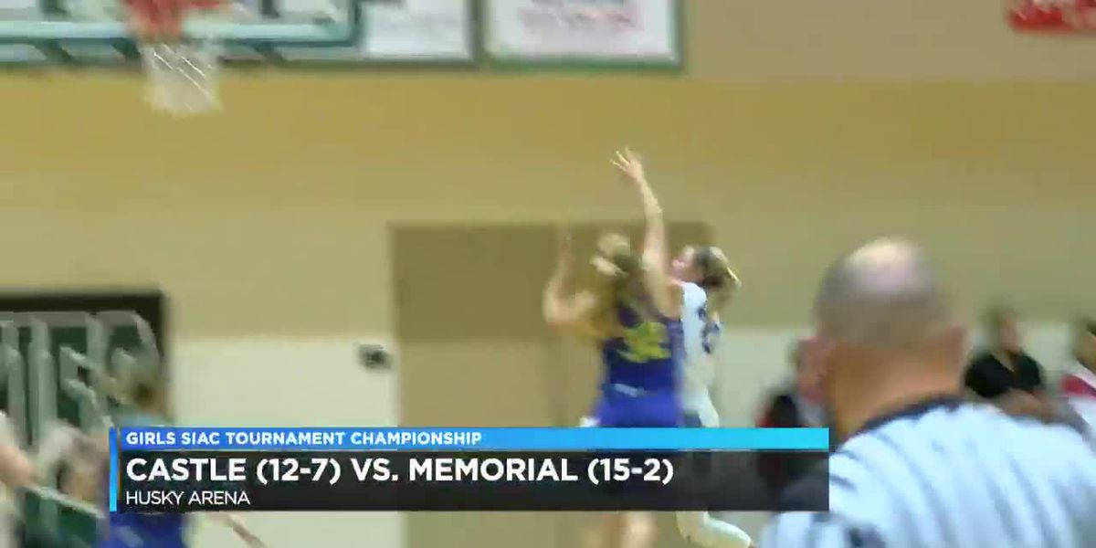 SIAC Tournament Championship: Castle vs Memorial girls