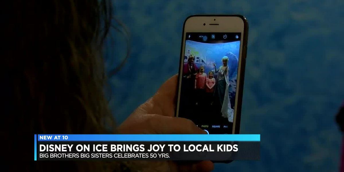 Big Brothers Big Sisters group celebrates 50 years at Disney on Ice