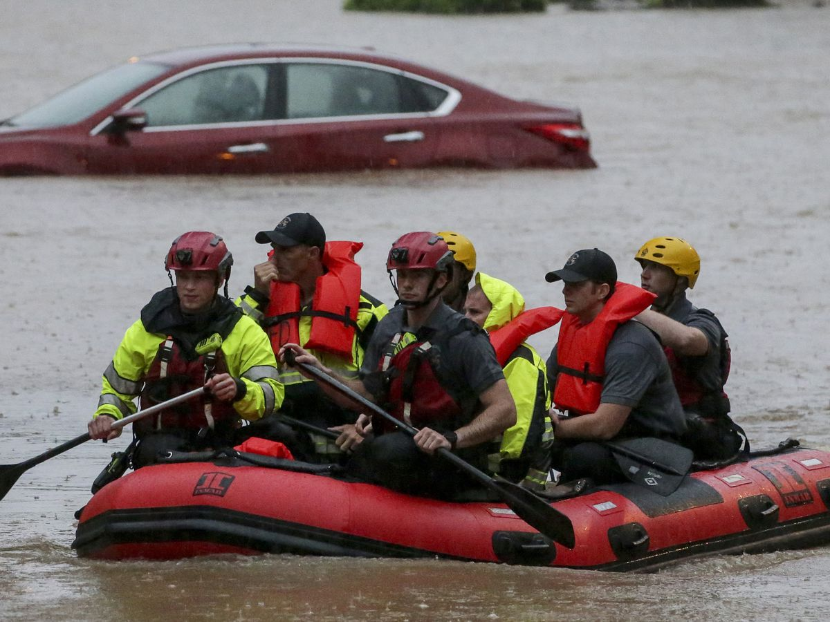 Flood threats persist as storms continue to drench South
