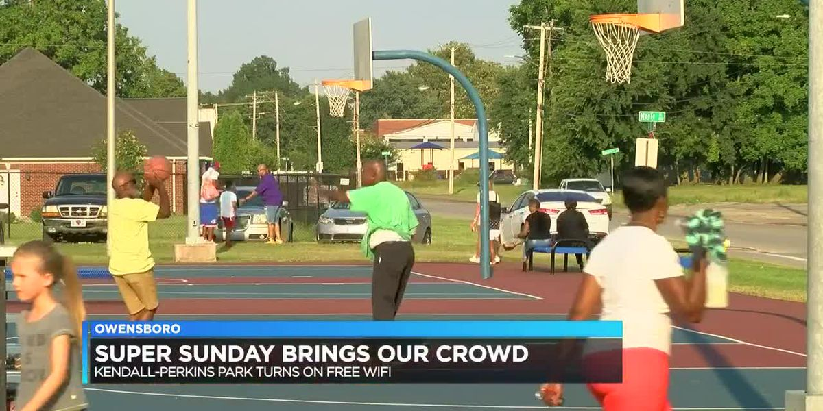 Kendall-Perkins Park becomes 2nd park in city to have free wi-fi