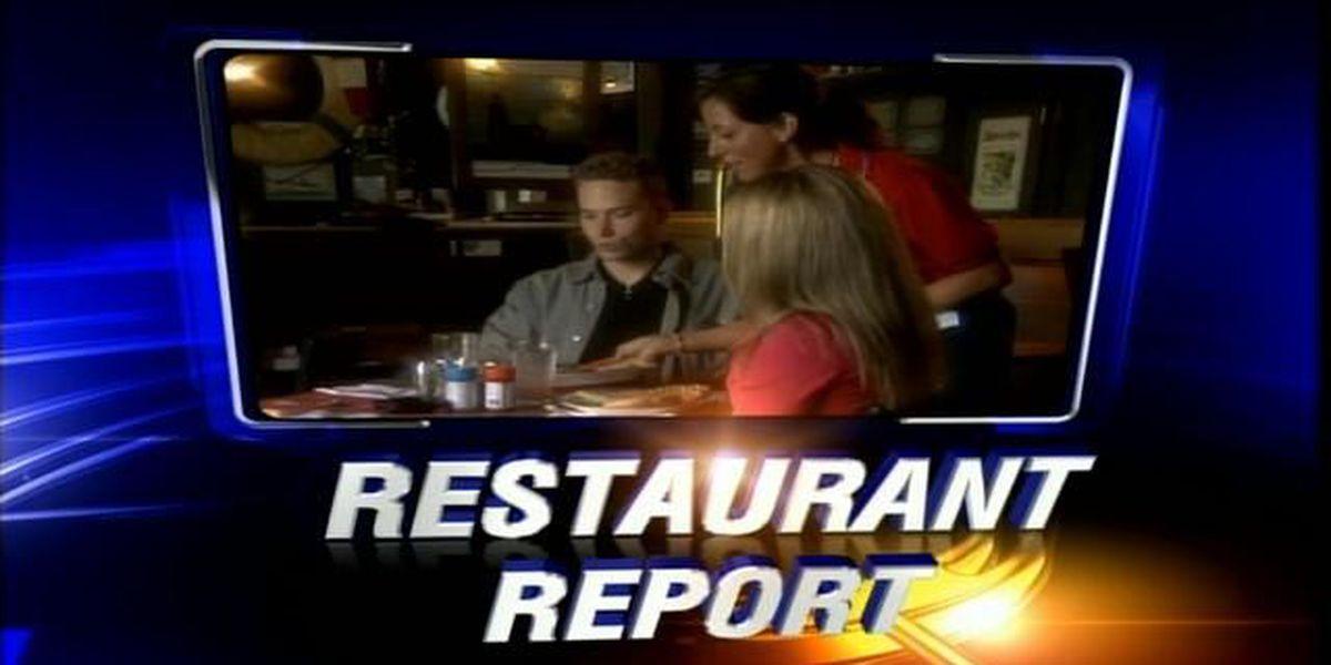 Vanderburgh Co. restaurant reports