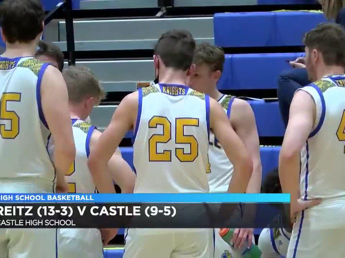 HS Boys Basketball: Reitz vs Castle