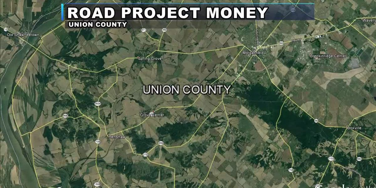 Union Co. to receive more than $160K for road projects