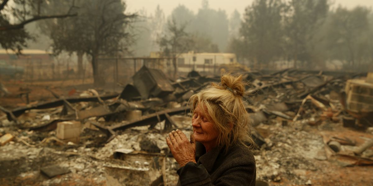At least 9 dead as fire incinerates N. California town