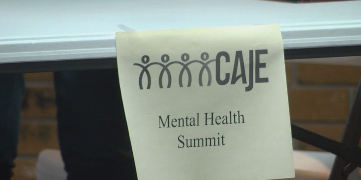 Leaders of CAJE gather at mental health summit