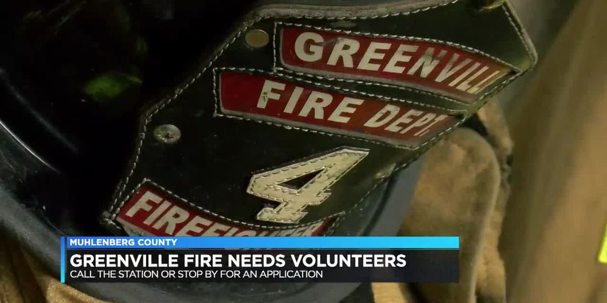 Greenville Fire Department looking for new volunteer firefighters