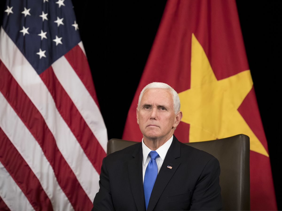 Pence says US committed to Indo-Pacific, not seeking control