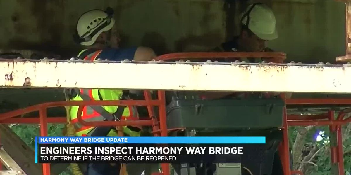 Officials are close to determining New Harmony Bridge's fate
