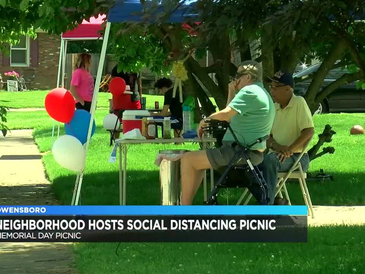 Owensboro neighborhood hosts Memorial Day picnic