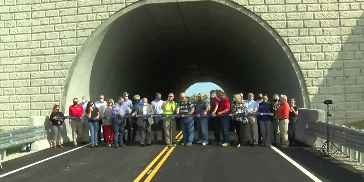 New tunnel now opened at Huntingburg Regional Airport