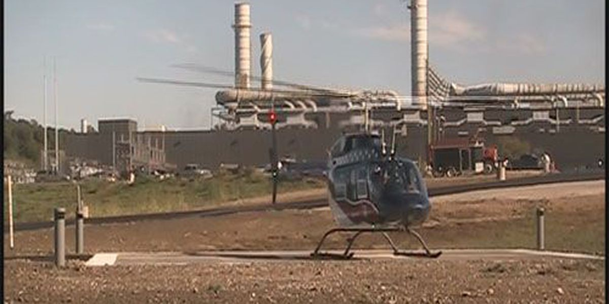 Second helipad unveiled in Perry Co.
