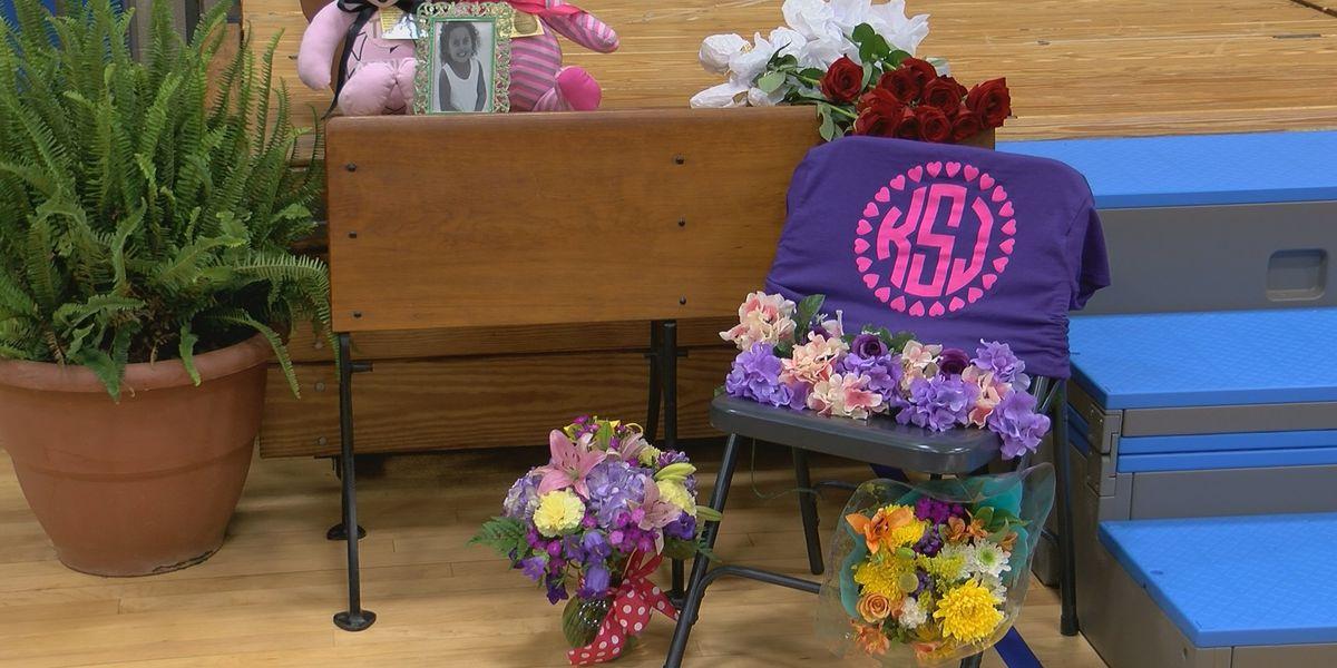 Students honor classmate at graduation