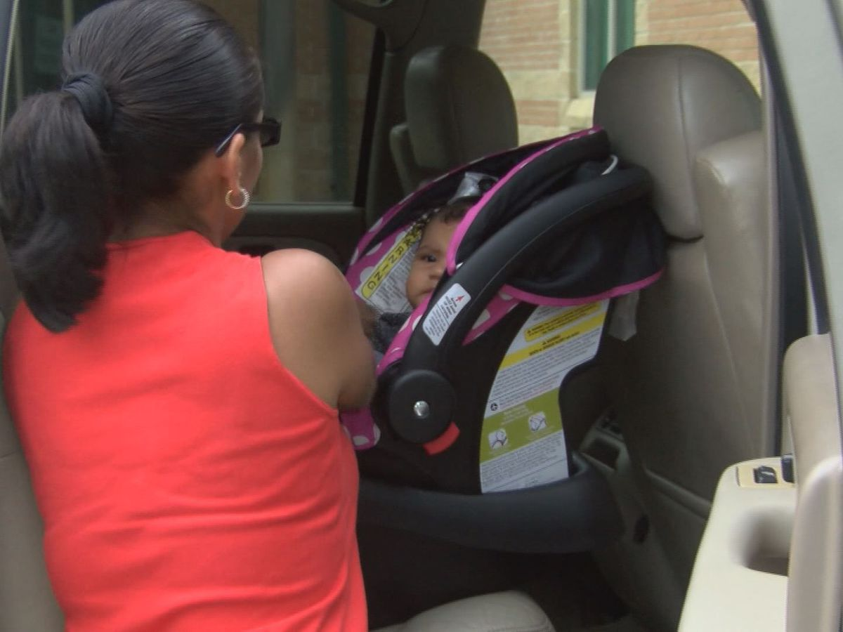 Gibson General Hospital giving away 150 booster seats, checking car seats