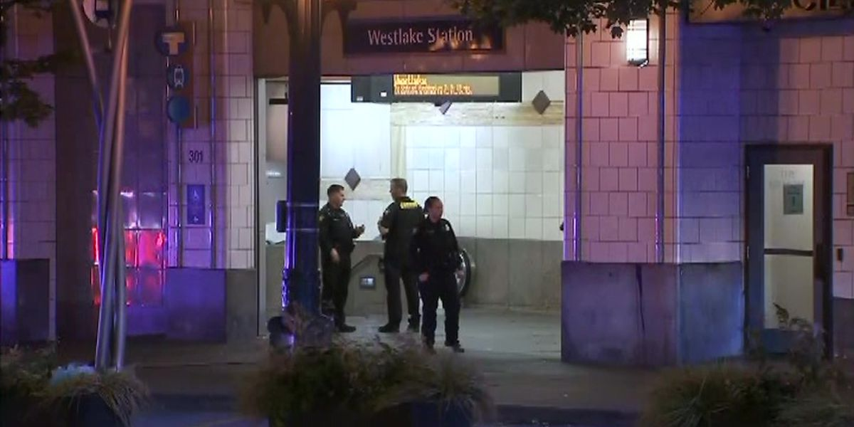 Gunfire at Seattle train station kills 1, wounds 2