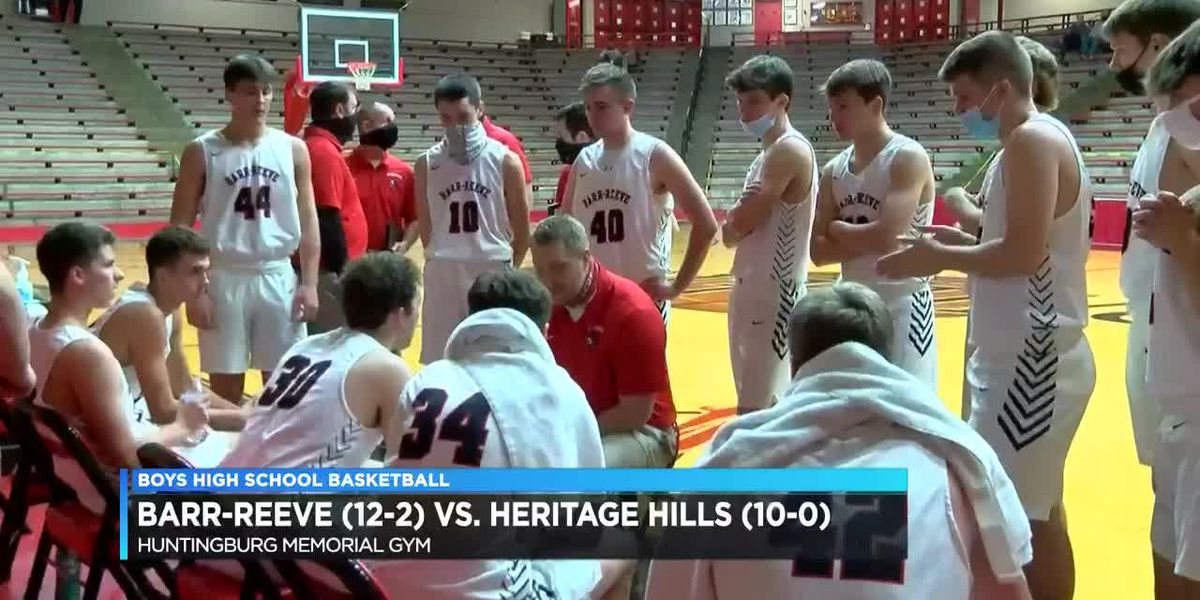 HS Boys Basketball: Barr-Reeve vs. Heritage Hills