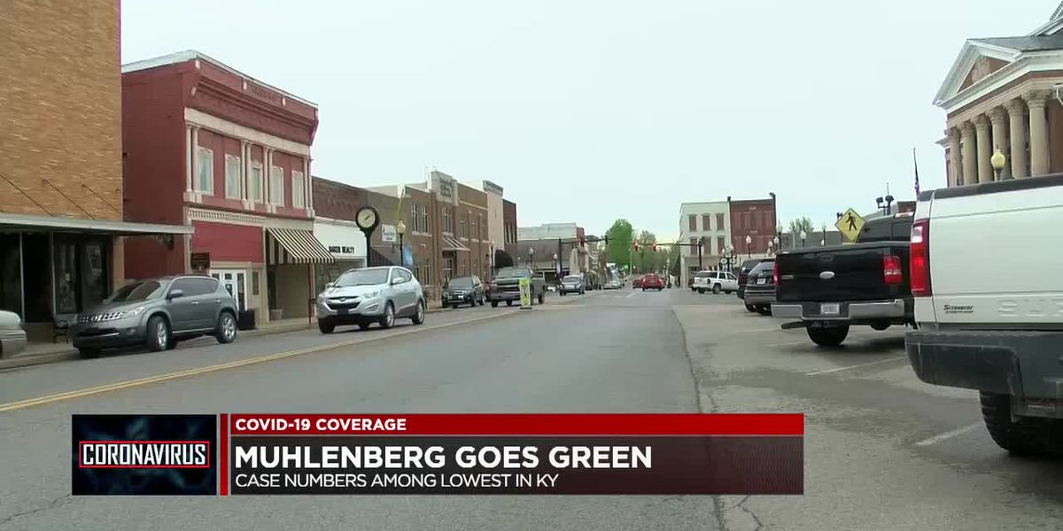 Muhlenberg Co. moves to 'green' on state map