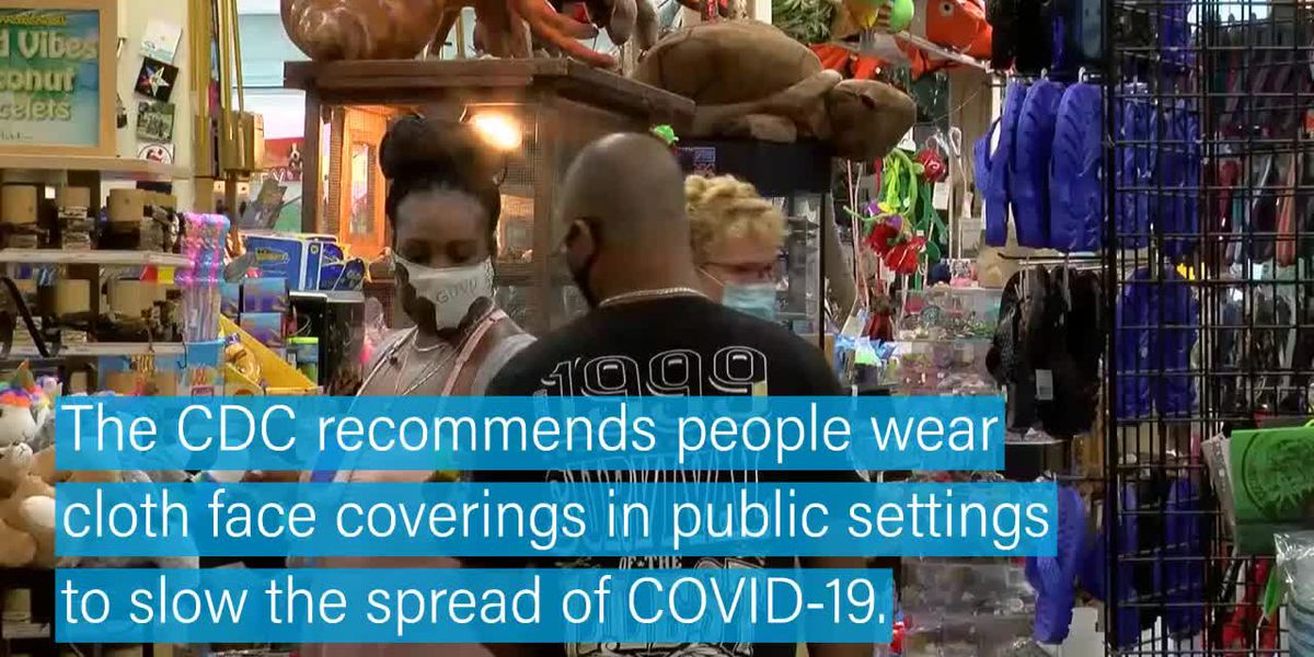 CDC recommends masks in public settings