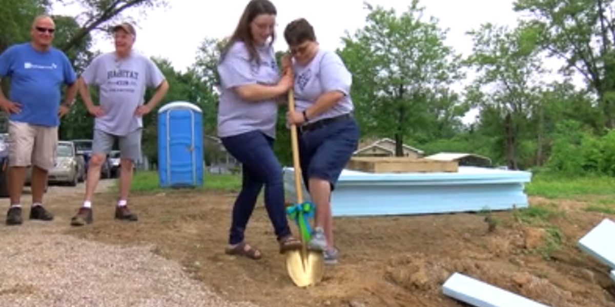 Warrick Co. family breaks ground on new Habitat for Humanity home