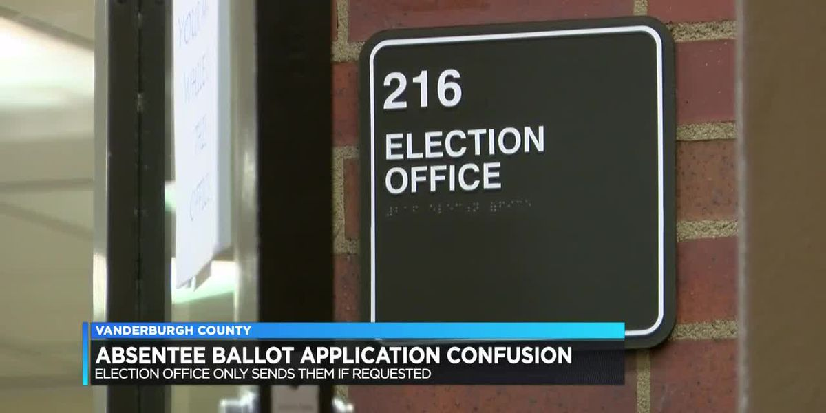 Absentee ballot applications cause confusion to both parties