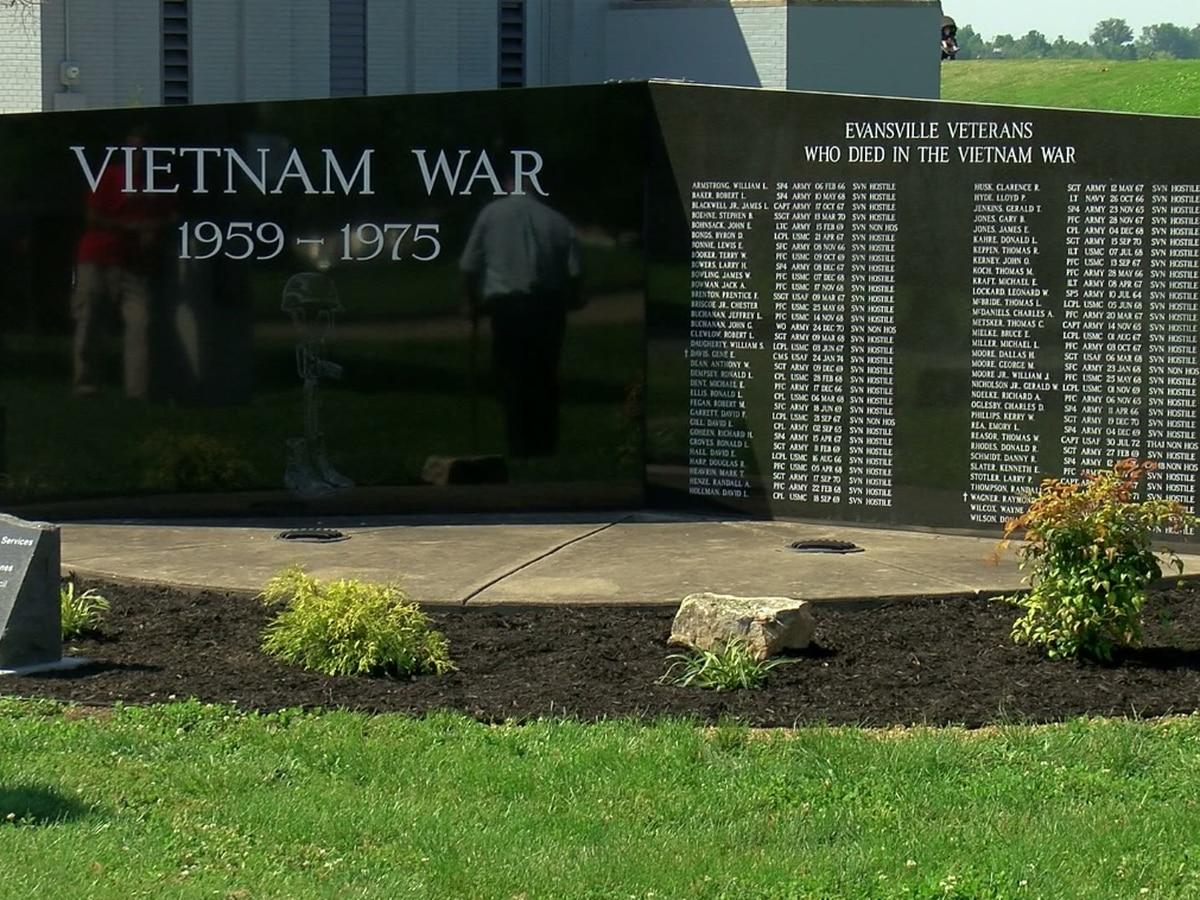 Evansville war memorials receive facelift