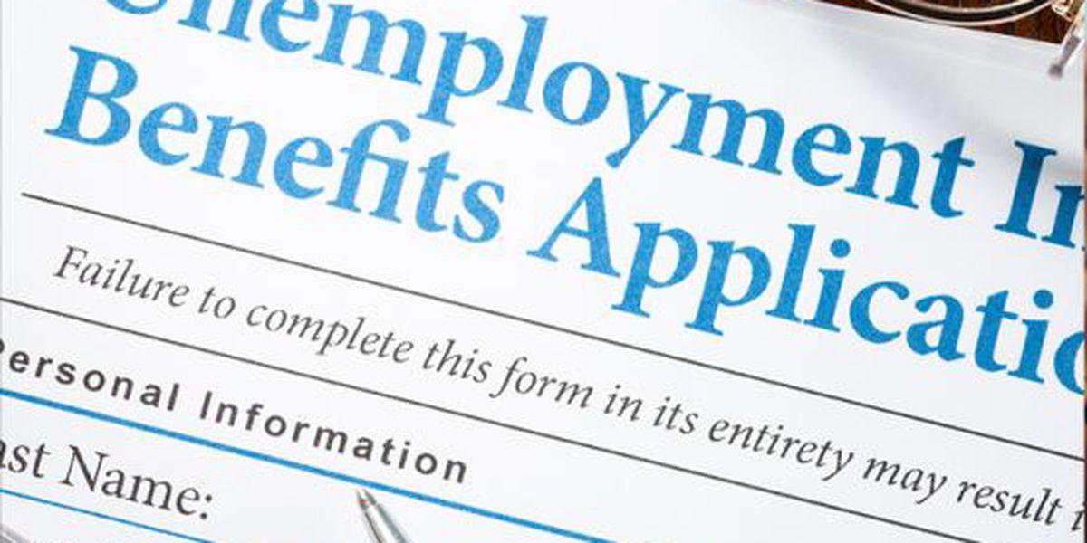3.3 million seek US jobless aid, nearly 5 times earlier high