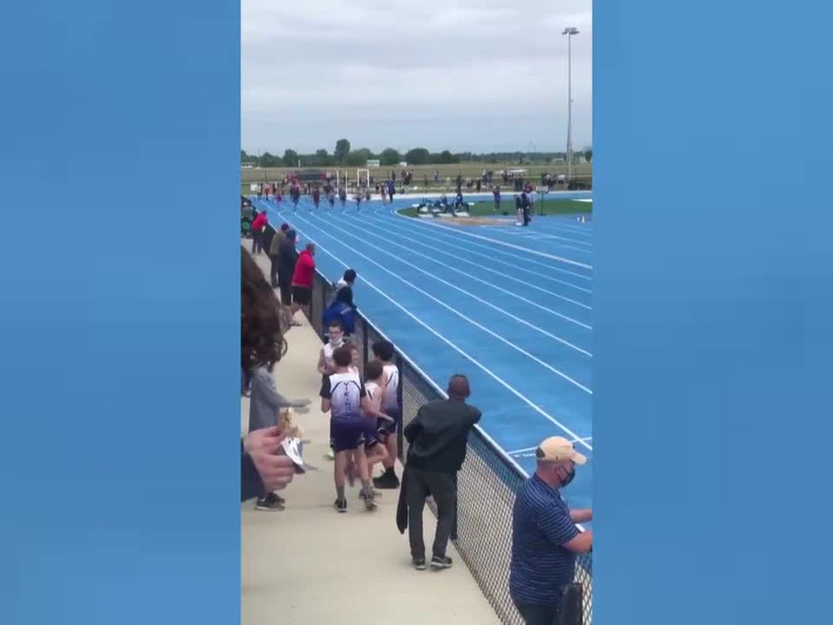 Owensboro track phenom King Combest zooms his way to another record