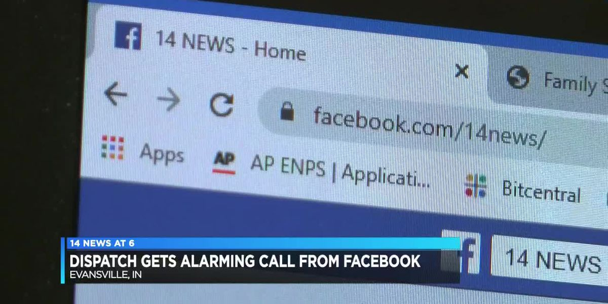 Local 911 dispatchers alerted by Facebook to possible dangerous situation