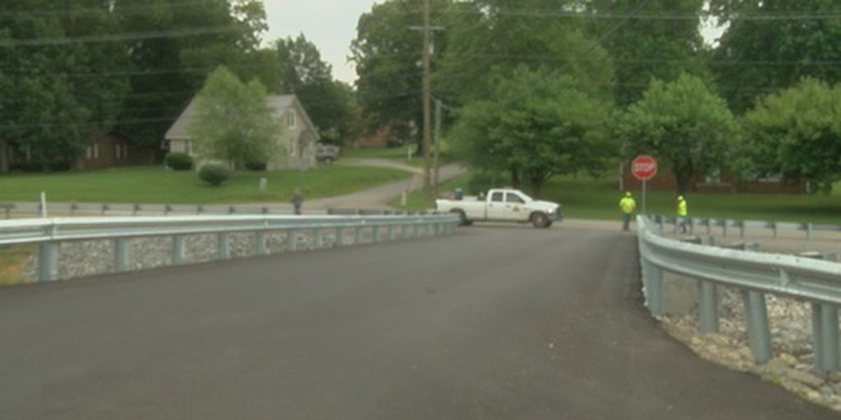 New Salem Bridge back open after being closed for past year