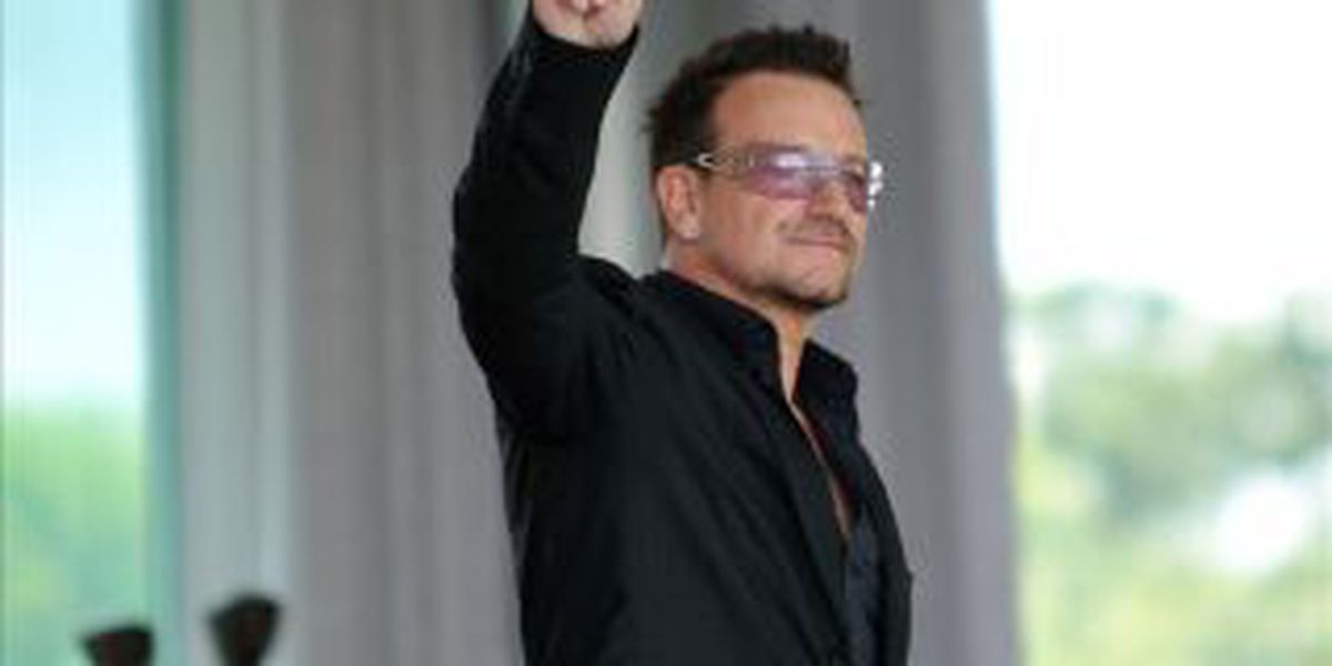 Bono says he wears sunglasses due to glaucoma