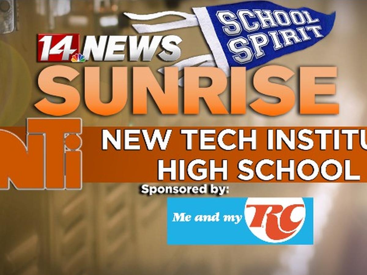 New Tech Institute takes on Sunrise School Spirit challenge